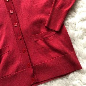 Halogen Sweaters - HALOGEN Petite Sweater Red Sz XS
